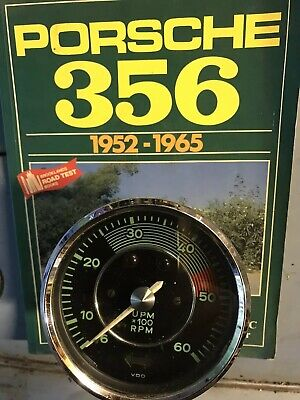 Porsche 356 A B C 1600 tachometer Normal Engine