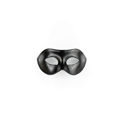 Eye Mask - PVC/Imitation Leather - Black bondage mask maschera fetish bdsm uomo