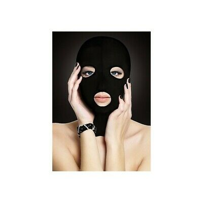 Subversion Mask - Black bondage mask maschera fetish bdsm uomo donna