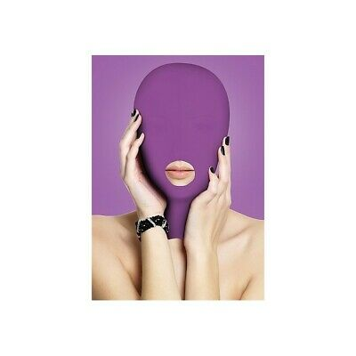 Submission Mask - Purple bondage mask maschera fetish bdsm uomo donna