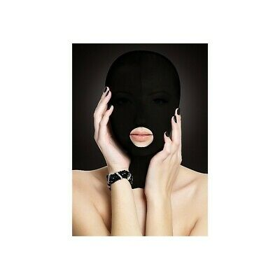 Submission Mask - Black bondage mask maschera fetish bdsm uomo donna