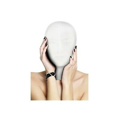 Subjugation Mask - White bondage mask maschera fetish bdsm uomo donna