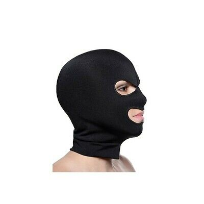 Spandex Hood With Eye And Mouth Holes bondage mask maschera fetish bdsm uomo don