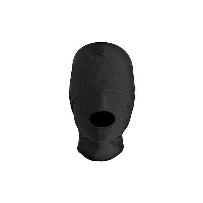 Disguise Open Mouth Hood bondage mask maschera fetish bdsm uomo donna