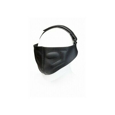Leather Blinding Mask bondage mask maschera fetish bdsm uomo donna