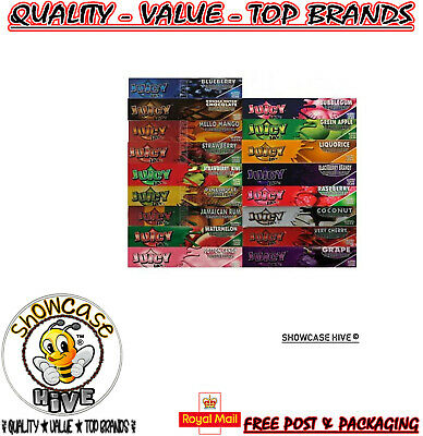Juicy Jays Flavoured Kingsize Slim Rolling Papers (Buy 4 Get 2 Free) Limited