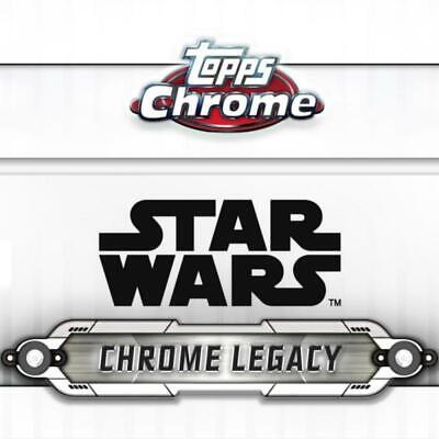 2019 Topps Chrome Star Wars Legacy Signature/Autograph/Auto Pick From List