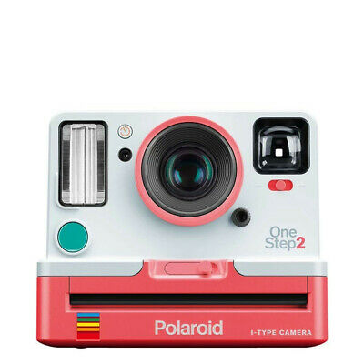 New Polaroid OneStep 2 VF 600 Instant Camera  - Coral