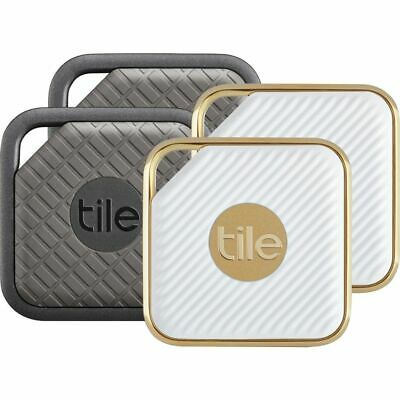 Tile Pro Series Sport and Style Smart Trackers 4 Pack - 2 Sport 2 Style