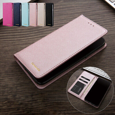 For iPhone 7 8 Plus XS Max XR 6s Case Luxury Flip Magnetic Leather Wallet Cover