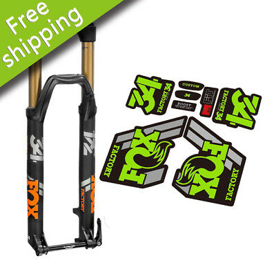 STICKERS FORK FORK FACTORY FOX 34 ELX15 STICKERS AUFKLEBERS DECALS ADHESIVE