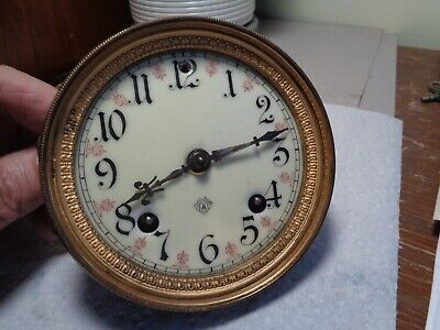 Antique-Ansonia-Statue Clock Movement-Ca.1890s-To Restore-#T737
