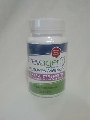 Prevagen Extra Strength Chewables Mixed Berry Flavor 30 tablets Improves Memory