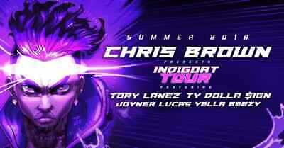 Chris Brown -Tory Lanez - Floor Ticket - 8/28/19 - New Orleans, LA (2 Available)