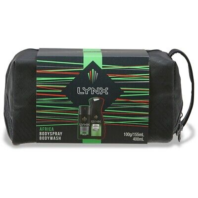 Lynx Africa Duo Wash Bag Pack