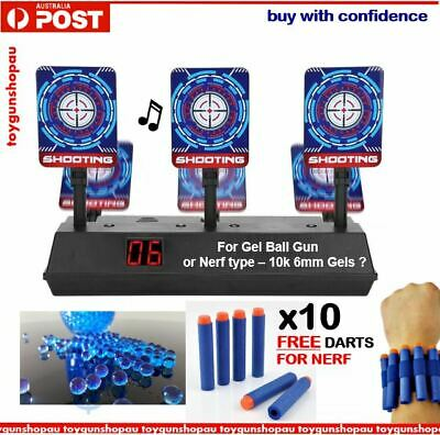 Scoring Auto Reset Electric Target for Nerf Toys Gel Ball Blaster Target Toy Gun