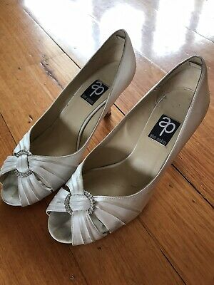 Alan Pinkus Wedding Bridal Shoe Size 9