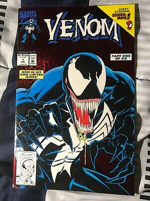 Venom Lethal Protector #1 VG Red Foil First Printing. VG Read Description!