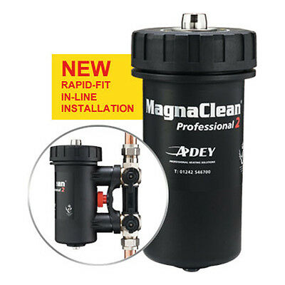 NEW Adey  0057246 Pro2 Magnaclean Professional 2 Magnetic Cleaner 22mm