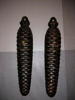 2 Cuckoo clock weights 750g reproduction.