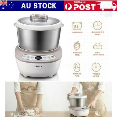 5L 200W Stainless Steel Stand Electric Flour Dough Mixer Pasta Noodle Maker