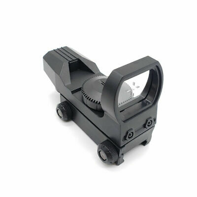 Tactical Holographic Reflex Red Green Dot Sight 4 Reticle RIFLE SCOPE 11-20mm
