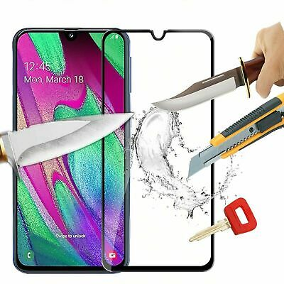 For Samsung Galaxy A10 3D Full Cover Tempered Glass Shockproof Screen Protector