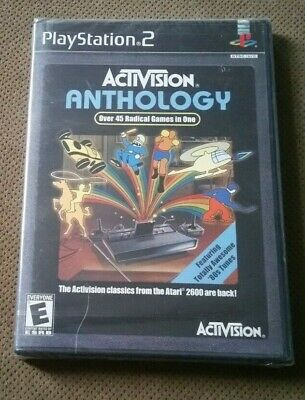 NEW-Activision Anthology Playstation 2 PS2  Factory Sealed