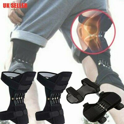 Leg Stabilizer Pads Power Knee Lift Joint Support Powerful Rebound Spring Force