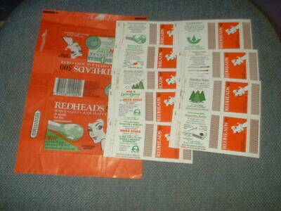 Set Of 9 Matchbox Label Skillets From Australia And Wrapper Environment Series