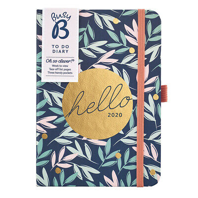 Busy B To Do Diary 2020 - Floral