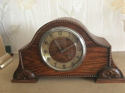 Mantel clock no markings could be English