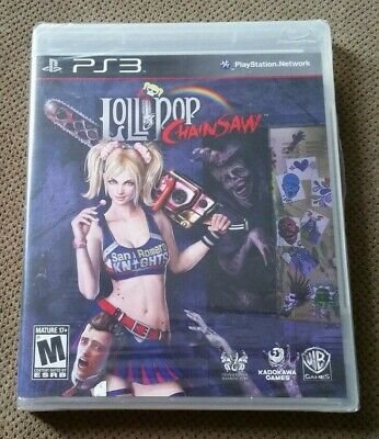 New/Sealed Lollipop Chainsaw PS3 Playstation 3