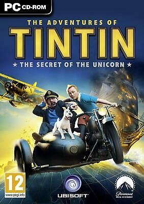 The Adventures Of Tintin: The Secret Of The Unicorn The Game (PC DVD) NEW