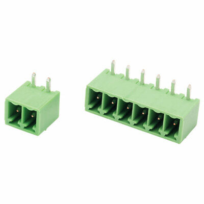 CamdenBoss 4 Way 10A Pluggable Terminal Block Side Entry Header 3.81mm Pitch