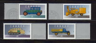 1996 Canada SC# 1605s-v Historic Land Vehicles Collection Lot# 283 M-NH
