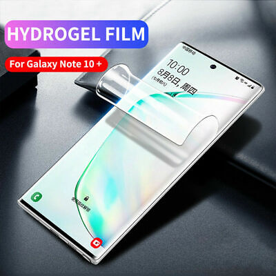 Samsung Galaxy Note10 PLUS PET Hydrogel film Full Cover Curved Screen Protector