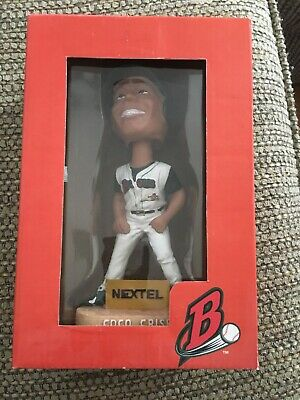 Coco Crisp Buffalo Bisons Indians Stadium Giveaway SGA Bobblehead with box, mint