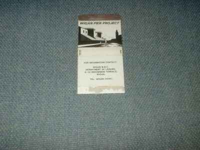 Rare Single Bryant And May Matchbox Label Skillet Wigan Pier