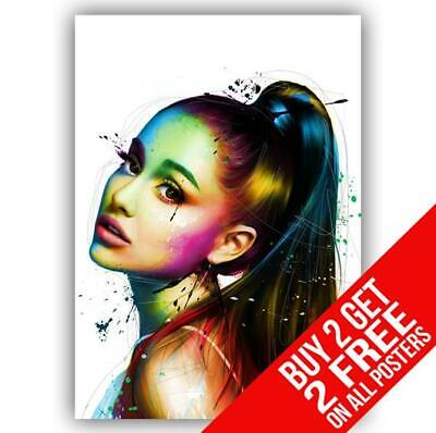 Ariana Grande Poster Art Print A4 A3 Size - Buy 2 Get Any 2 Free