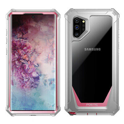 For Galaxy Note 10 Plus BumperShockproofCaseCover|360DegreeProtetivePink