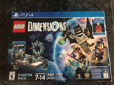 LEGO Dimensions Starter Pack PS4 + SuperGirl Exclusive RARE NEW