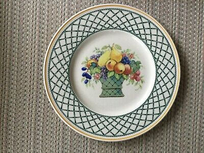 Villeroy  and Boch Basket Plates Bowls Teapot Warmer Creamer Sugar your choice