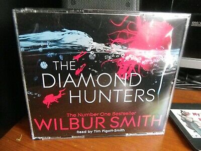 Wilbur Smith - The Diamond Hunters (CD - Audiobook)