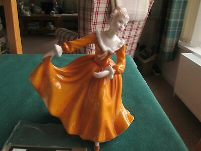 "Royal Doulton Kirsty  Hn 4783  Pretty Ladies Figurine   7"" High"