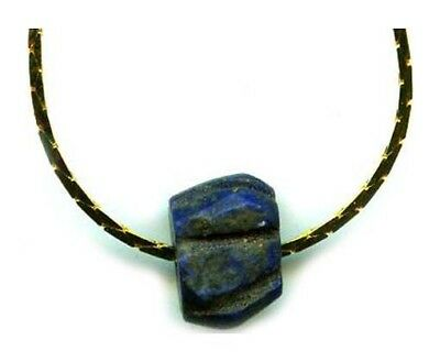 Ancient Armenian 3½ct Lapis Lazuli Pendant BC3000 Assyrian Empire Gem of Heaven