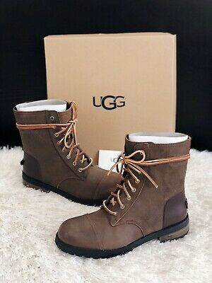 773c061c843 ✨NEW UGG KILMER II Water Resistant Leather Combat Booties Womens ...