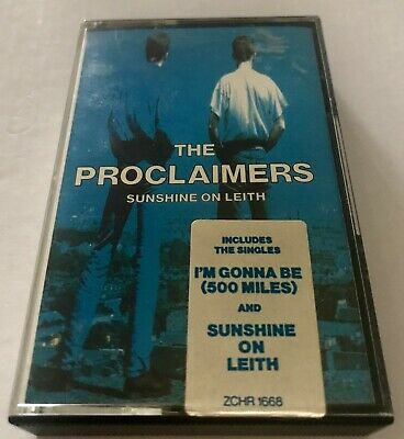 The Proclaimers - Sunshine On Leith - Music Cassette - Inc Lyrics - Ex Cond
