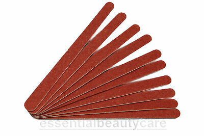 10 x Tapered Emery Boards Nail Files Grit- 80/100