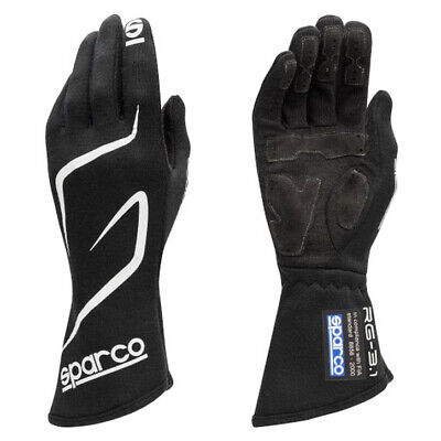 Sparco Land RG-3.1 Race Gloves Club Race/Rally FIA 8856-2000 Approved Large NEW